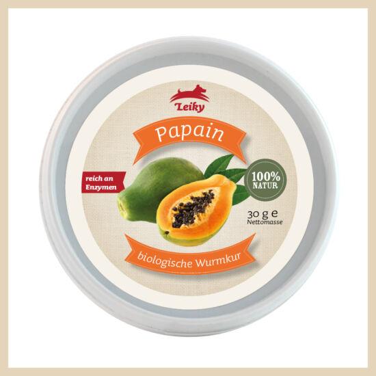 Leiky 100% Papain - a természetes féregtelenítő