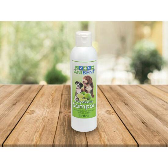 Folyékony sampon kutyáknak - illatos
