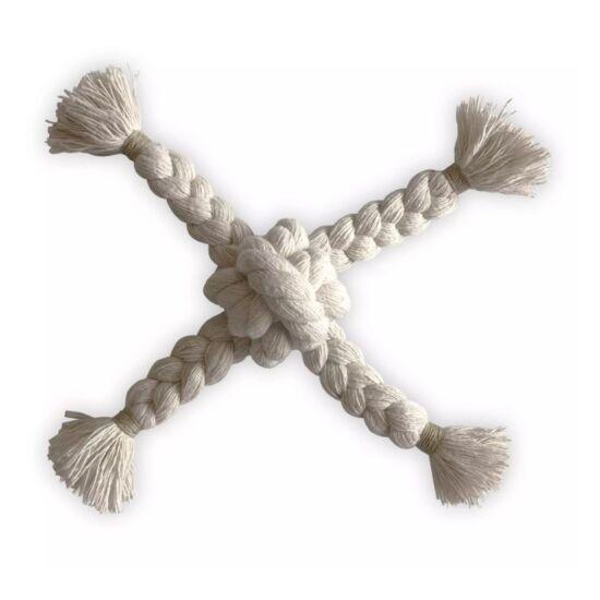 natúr pamut kötéljáték