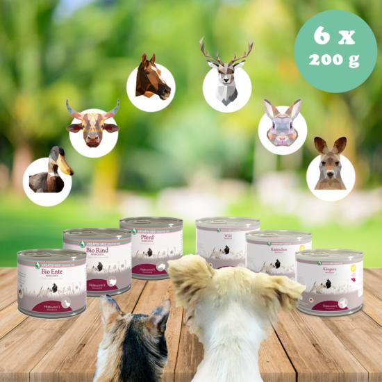 monoprotein próbacsomag kutyáknak macskáknak