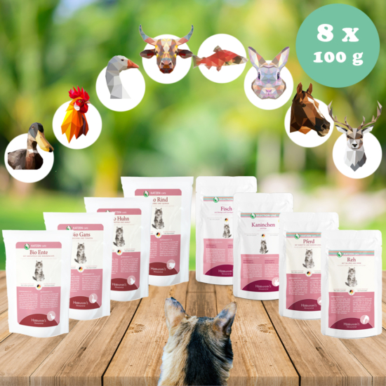 Bio próbacsomag nedveseledel menü macskáknak