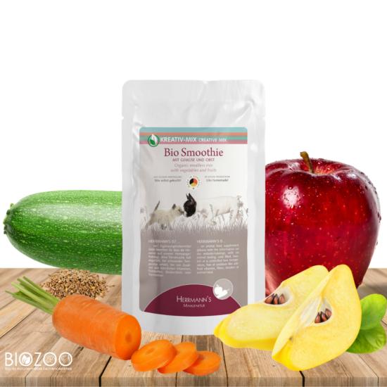 Bio zöldség és gyümölcs turmix kutyáknak