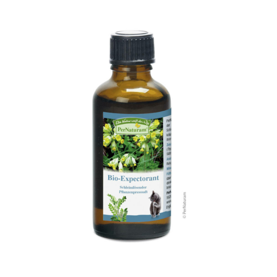 PerNaturam Bio Expectorant Kat, hidegen préselt  50 ml