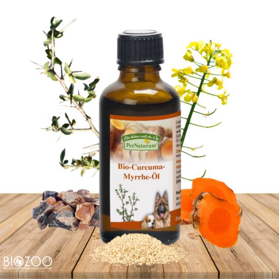 PerNaturam Bio kurkuma és mirha olaj, hidegen préselt  50 ml
